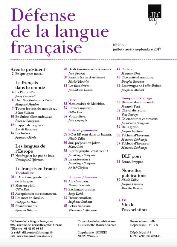 2017-109-revue265sommaire
