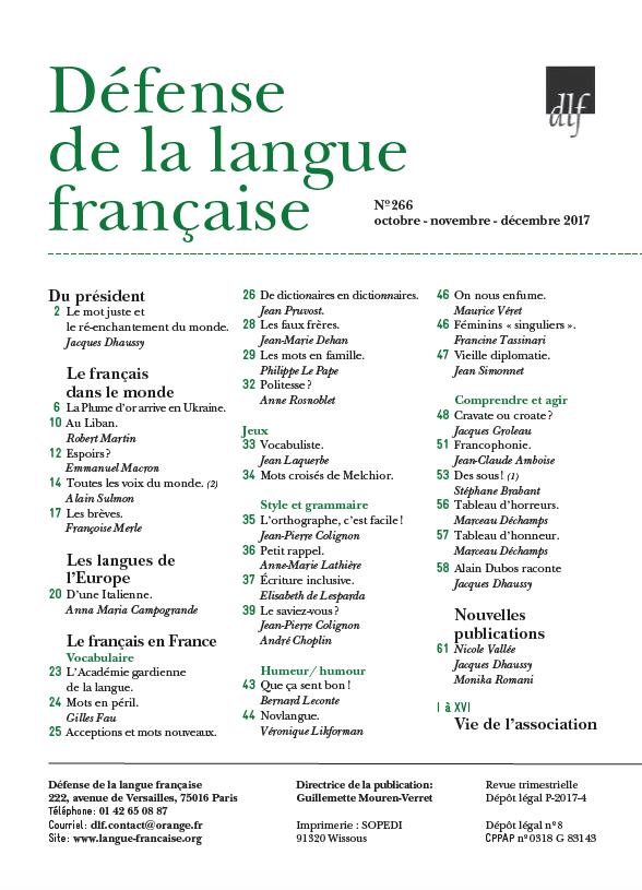 revue266-sommaire