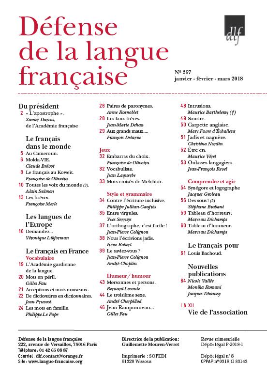 2018-03-revue267sommaire